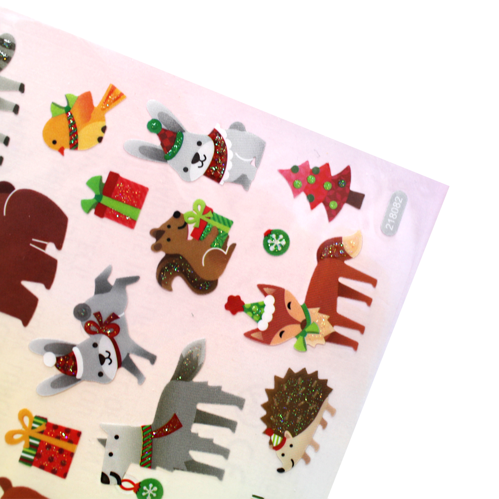 Christmas Animal Stickers