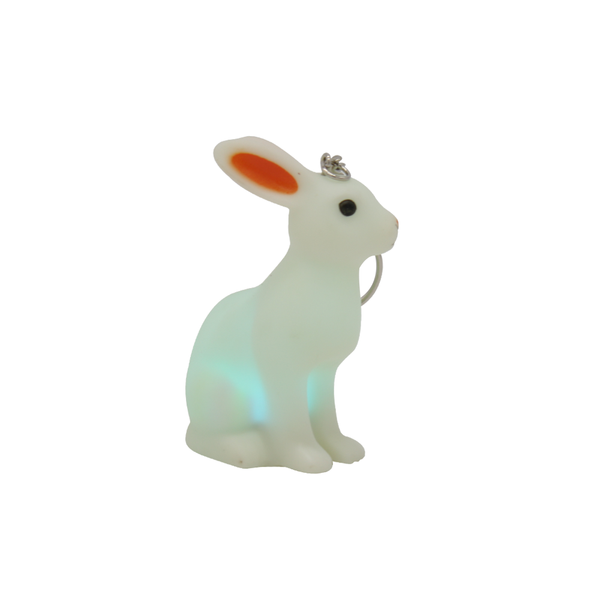 Keychain LED Light Bunny