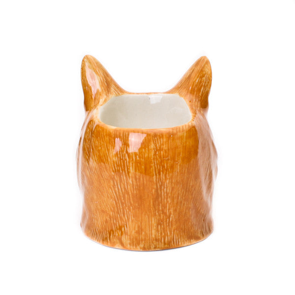 Quail Vincent Cat Face Egg Cup
