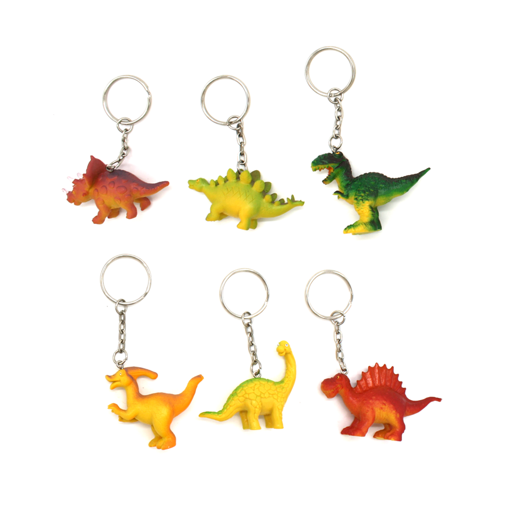House of Marbles Dinosaur Key Ring Assorted
