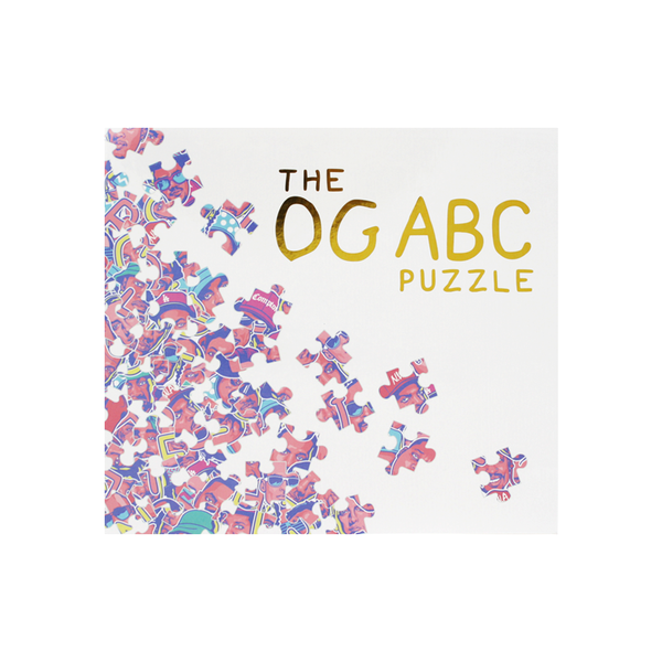 The O G ABC 500 Piece Puzzle