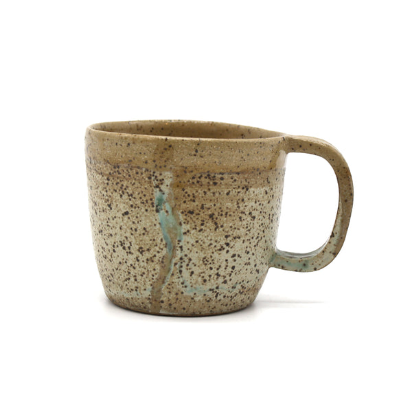 Nidito Handmade Mug Grey Brown Speckled