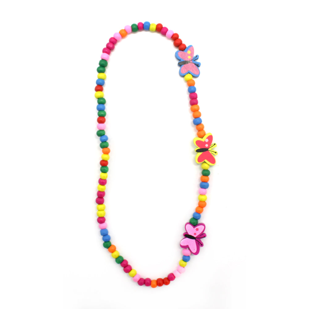 Kids Bead Necklace Assorted