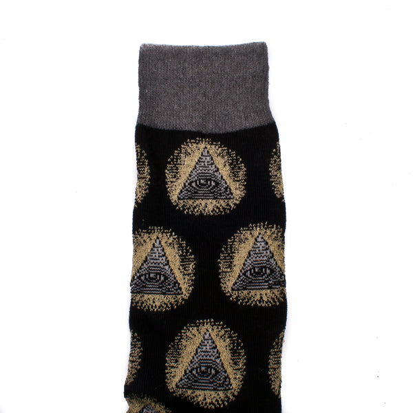 Socksmith Socks Mens Illuminati