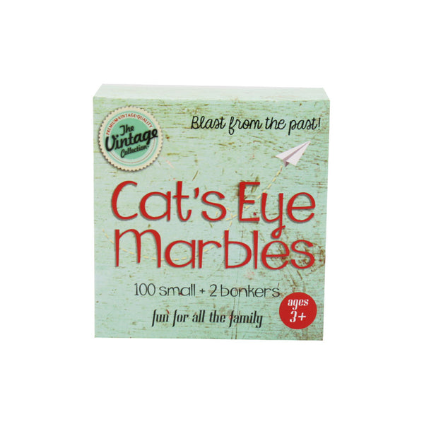 Vintage Collection Catseye Marbles Pack of 102