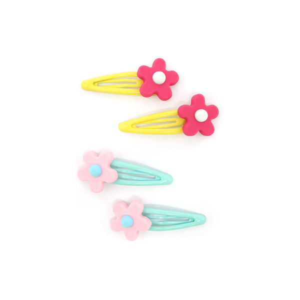 Fun Times Hair Clip Flower Set of 2