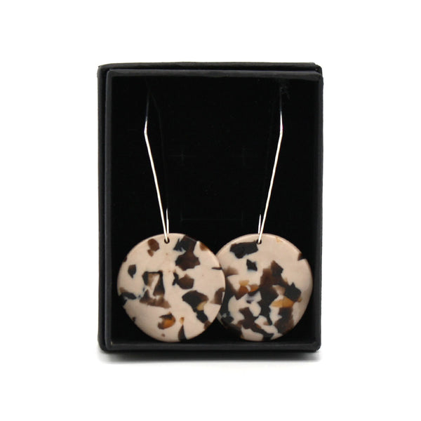 Penny Foggo Earrings Tortoiseshell Fudge Crush