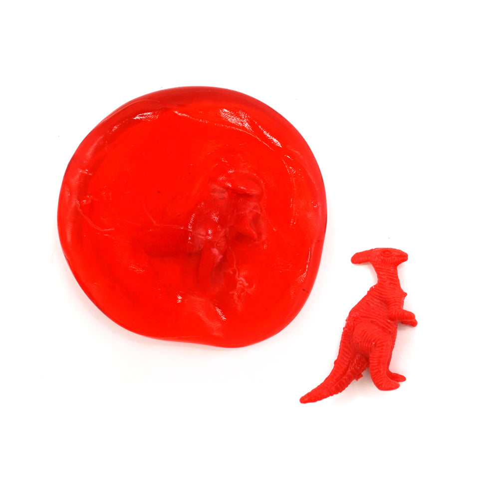 Flashing Dino Putty Egg Assorted