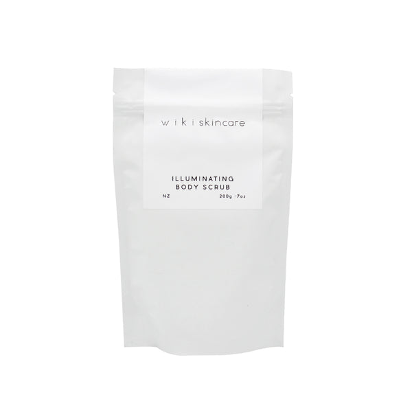 Wiki Skincare Illuminating Body Scrub