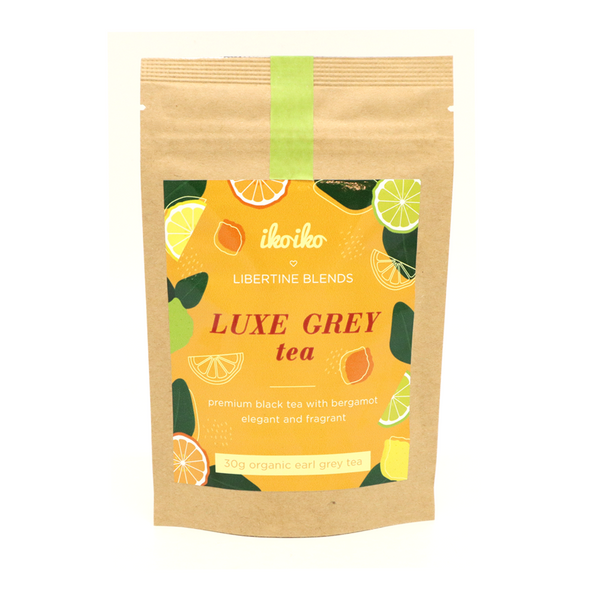 Iko Iko Loves Libertine Blends Loose Leaf Tea 30g Luxe Grey