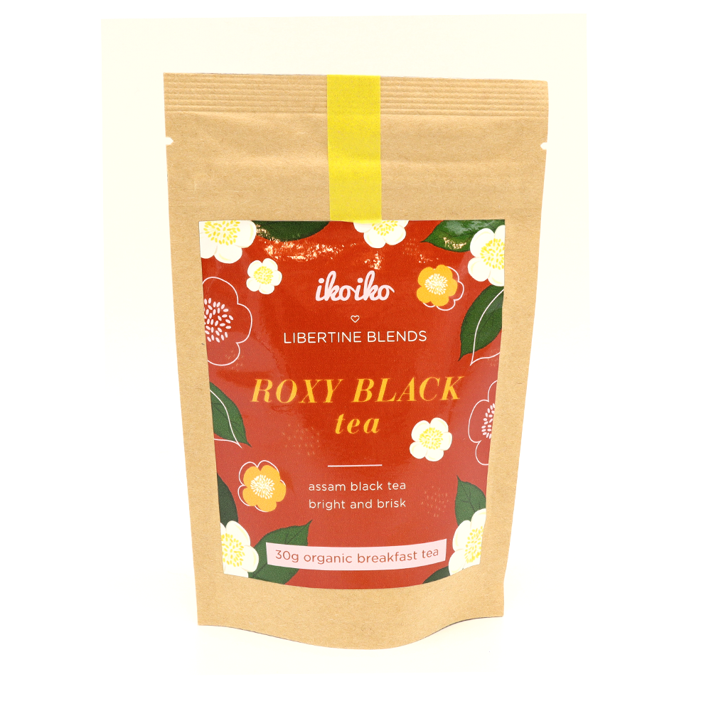 Iko Iko Loves Libertine Blends Loose Leaf Tea 30g Roxy Black