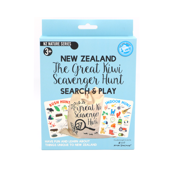 The Great Kiwi Scavenger Hunt Search and Play