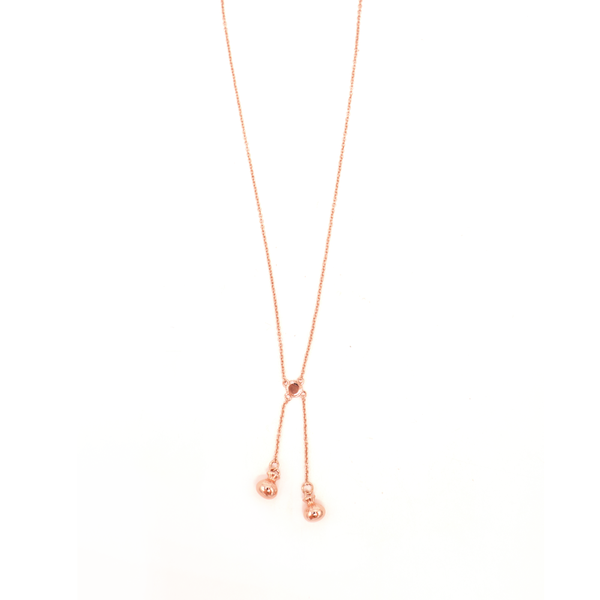 Little Taonga Necklace Poi Poi Rose Gold
