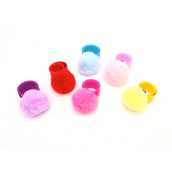 Pom Pom Slap Band Assorted