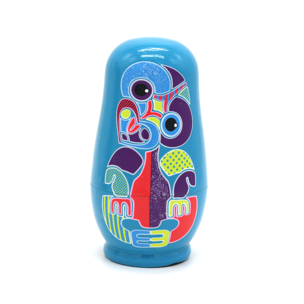 New Zealand Nesting Doll Tiki