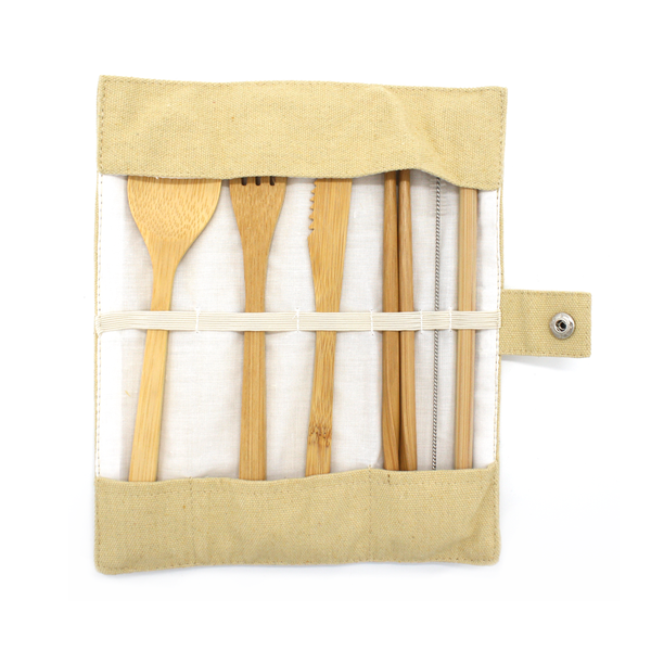 Moana Road Eco Cutlery Set Oat