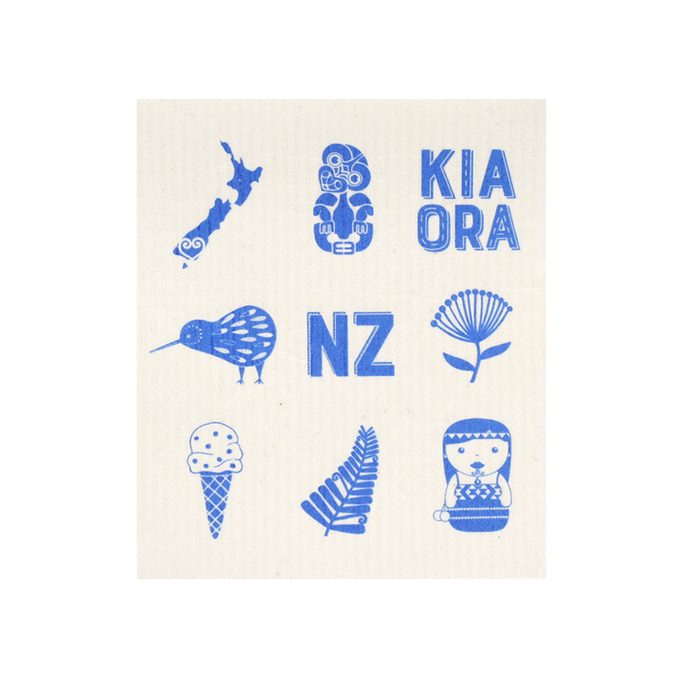 New Zealand Biodegradable Dish Cloth Assorted