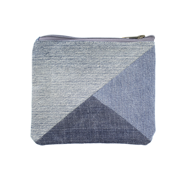 Moana Road Recycled Denim Clutch