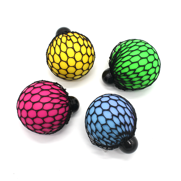 Mesh Colour Change Squeeze Ball Assorted