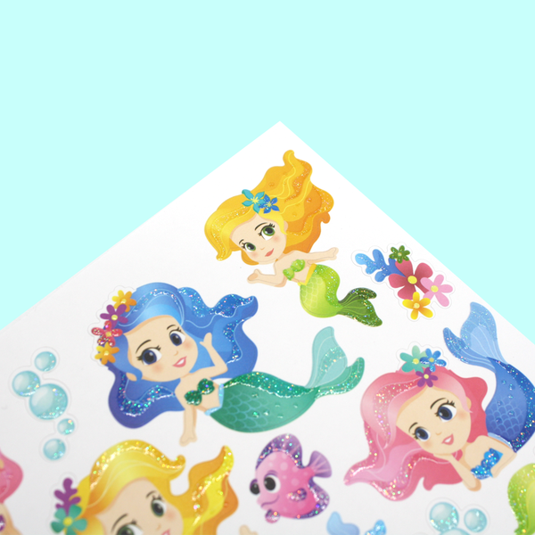 Playful Mermaids Stickers
