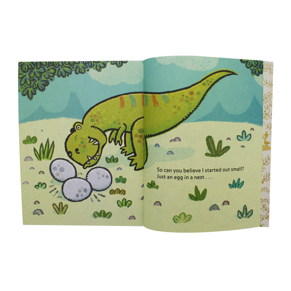 Little Golden Book Im a T Rex