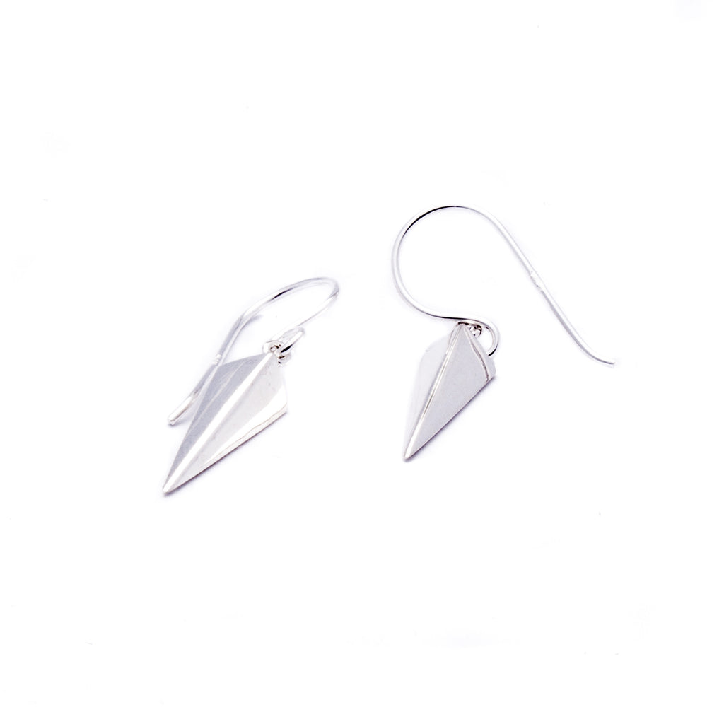 Iko Iko Earrings Arrow Head Silver