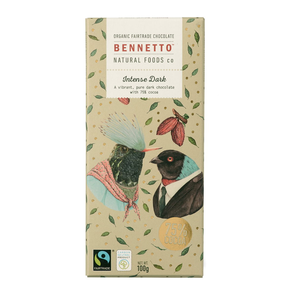 Bennetto Chocolate Intense Dark 100g