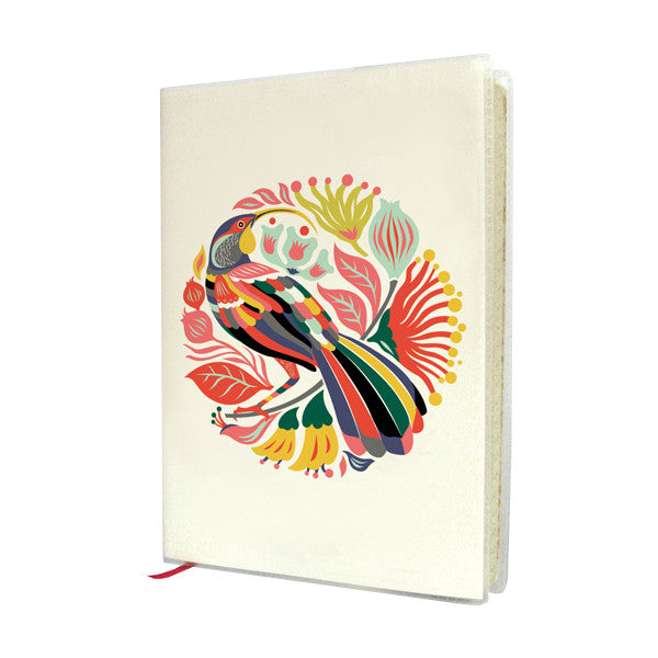 Tofutree A6 Journal Colourful Huia