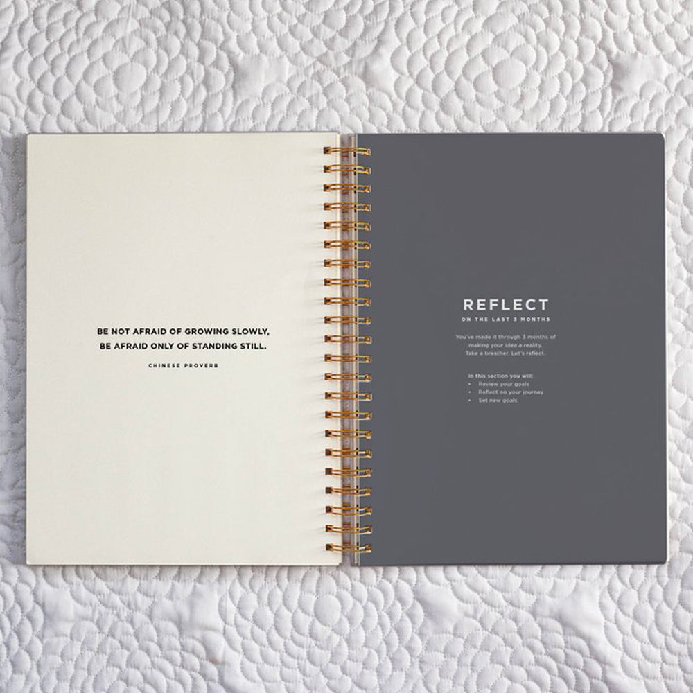 Frank Stationery On Purpose Project Planner Black