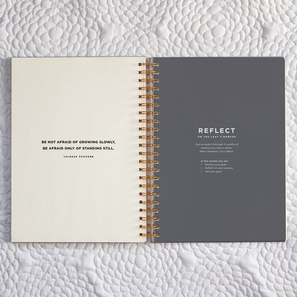 Frank Stationery On Purpose Project Planner Stone