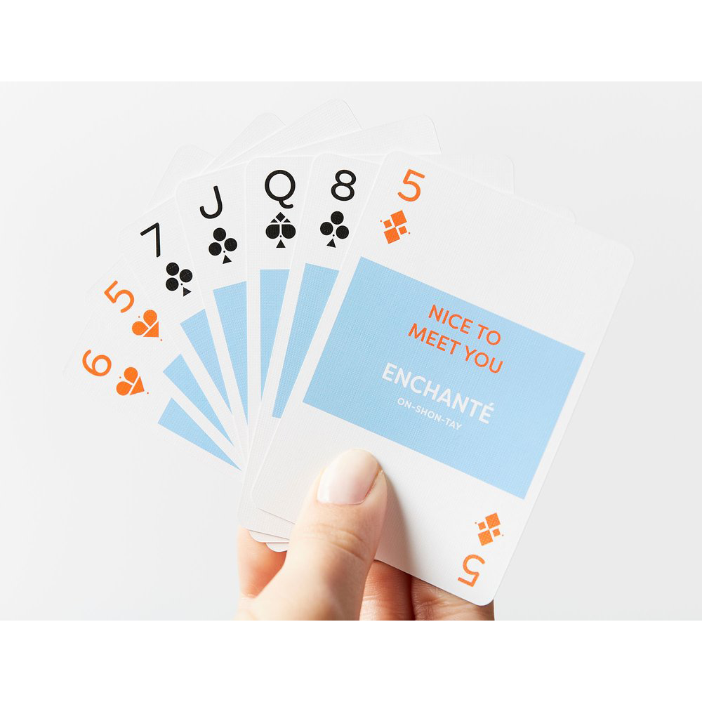 Lingo French Playing Cards