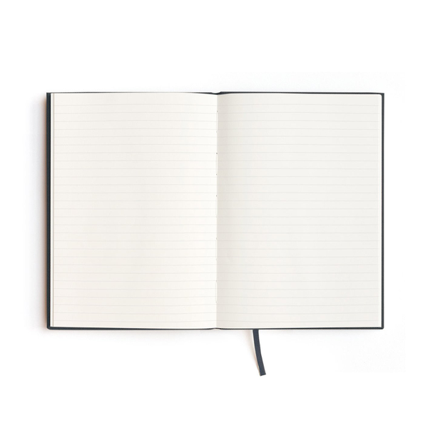 Milligram Soft Cover Linen Notebook Evi O Edition Ruled A5 Navy