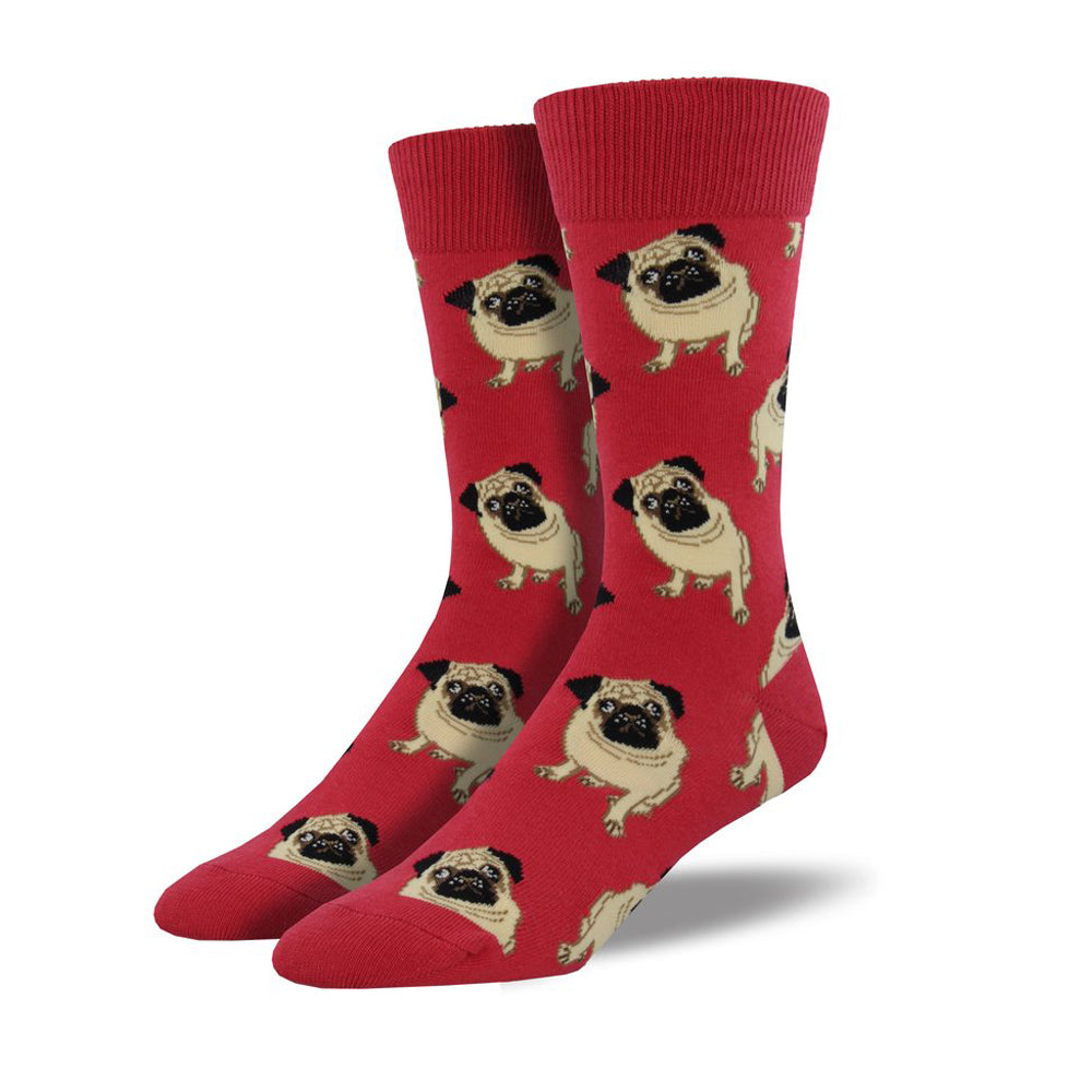 Socksmith Socks Mens Pugs