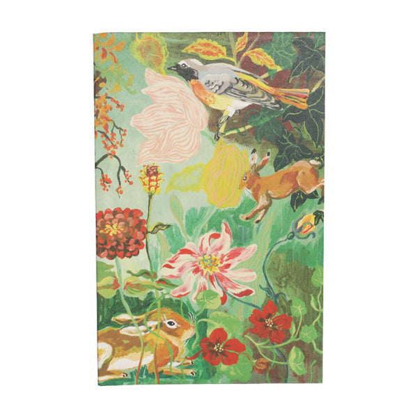 Forest Life Notebook Green