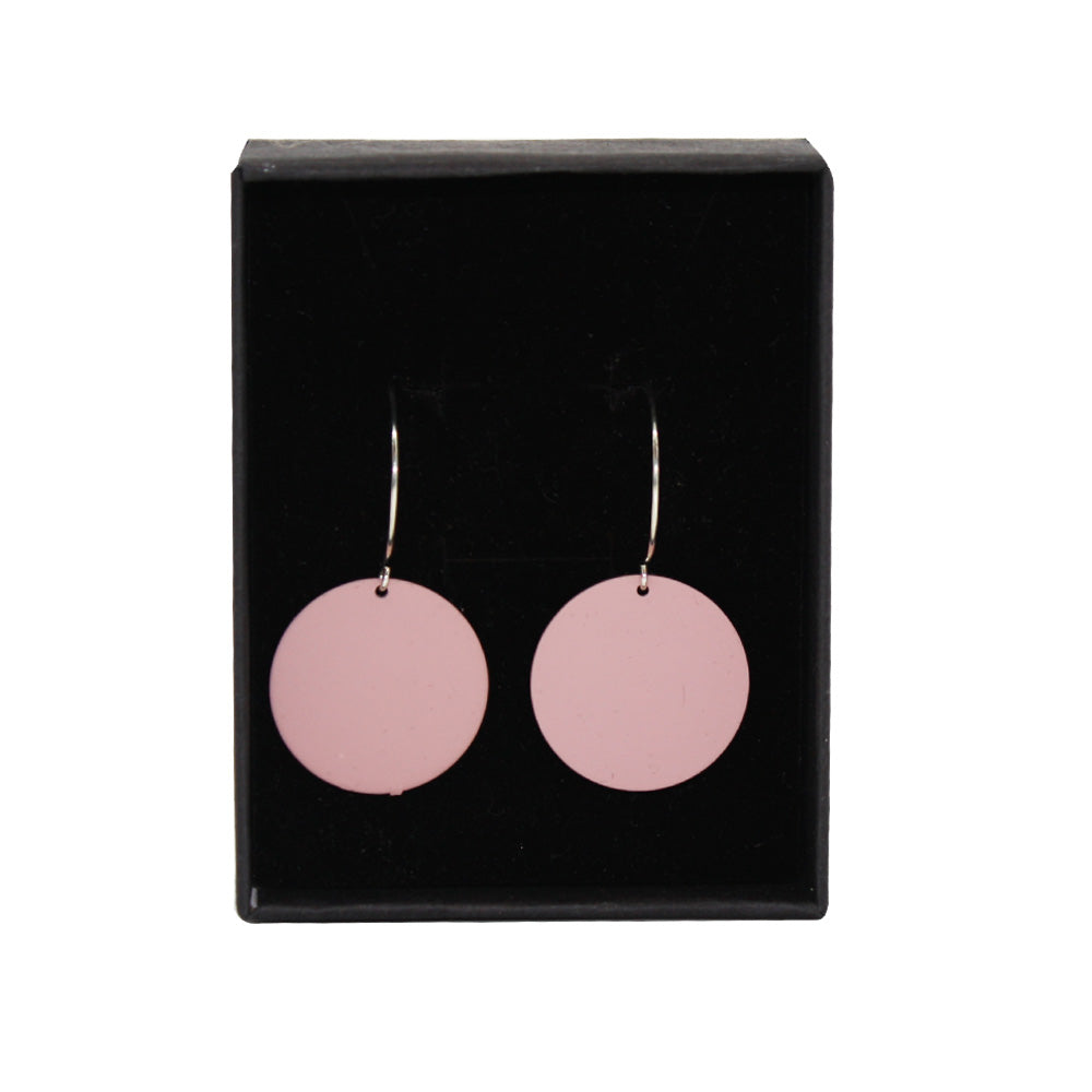Penny Foggo Earrings Small Spot Pink