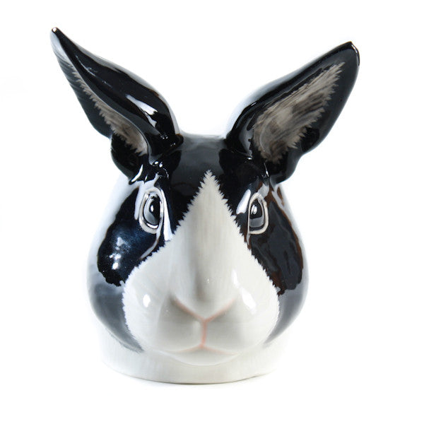 Quail Rabbit Egg Cup Black and White