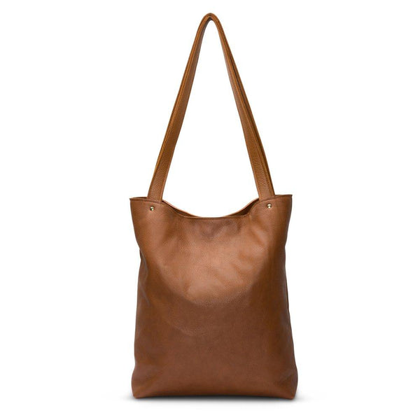 Go Ask Alice Ingrid Tote Bag Vintage Tan