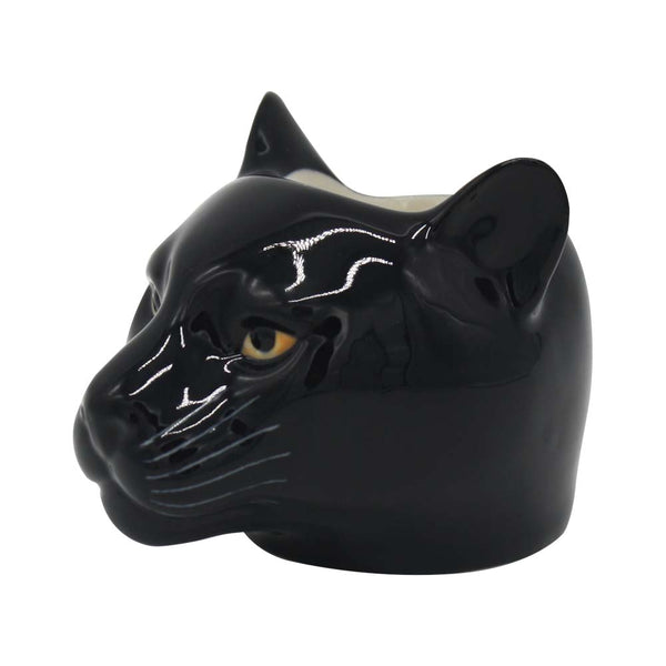 Quail Panther Face Egg Cup