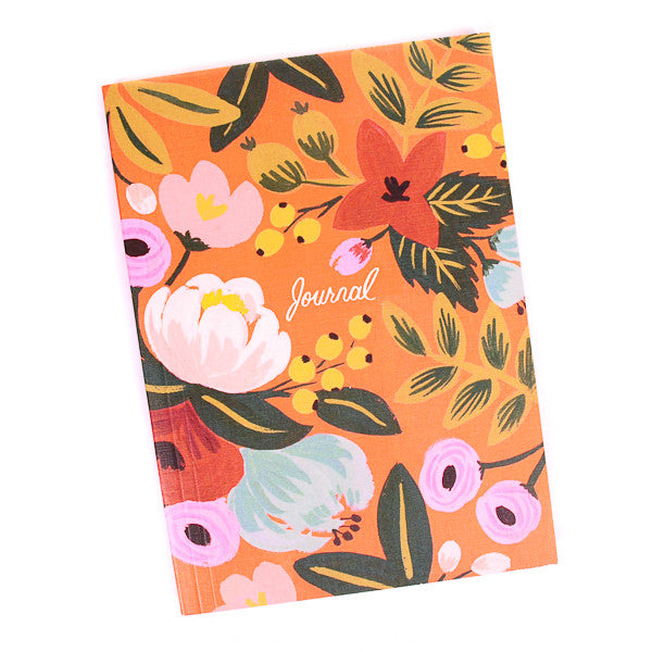 Rifle Paper Co Journal Jardin Evelina Red Floral
