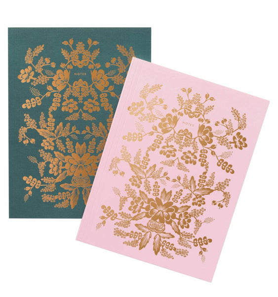 Rifle Paper Co Set of Two Notebooks Rorschach