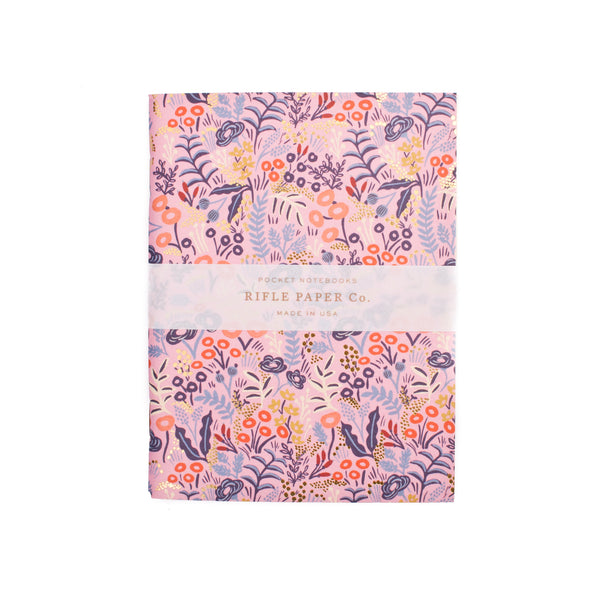 Rifle Paper Co. Pocket Notebooks set of 2 Tapestry