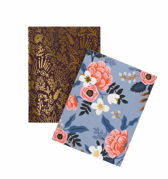 Rifle Paper Co. Pocket Notebooks Pack of 2 Plain Birch