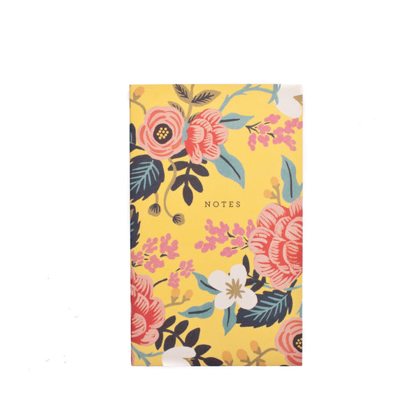 Rifle Paper Co. Pocket Notepad Birch Floral