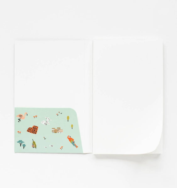 Rifle Paper Co. Pocket Notepad Plain Wanderlust
