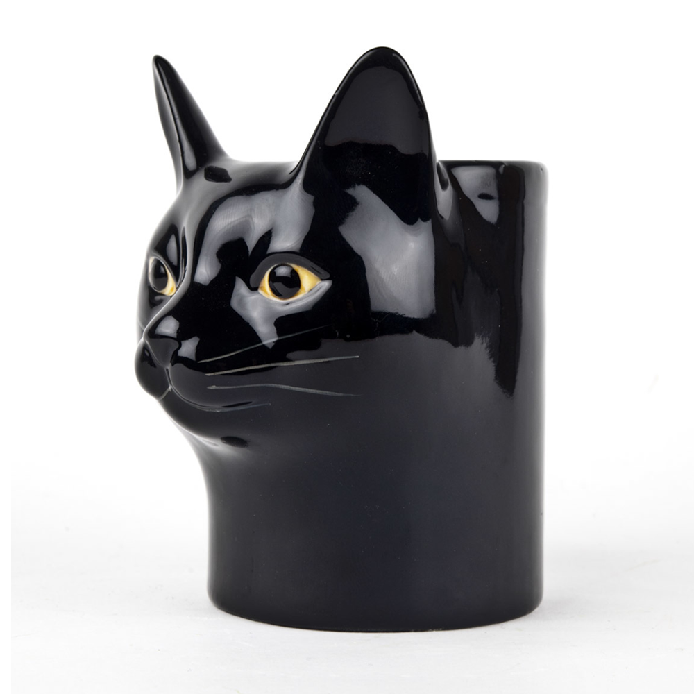 Quail Cat Lucky Pot