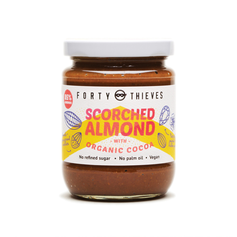 Forty Thieves Scorched Almond with Organic Cocoa