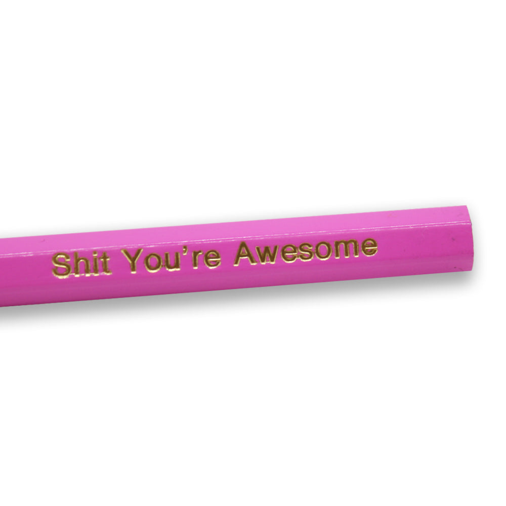 Iko Iko Shit You're Awesome Pencil
