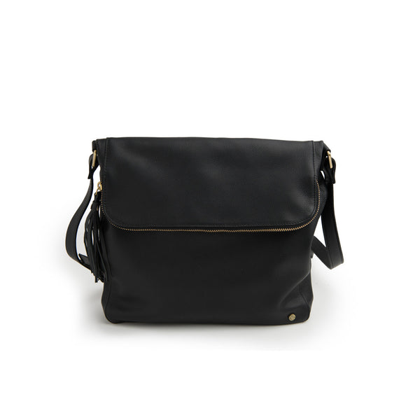 Stitch & Hide Handbag Alexa Satchel Black