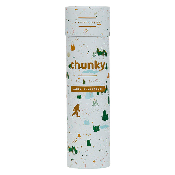 Chunky Bottle Artist Series Snow Yeti