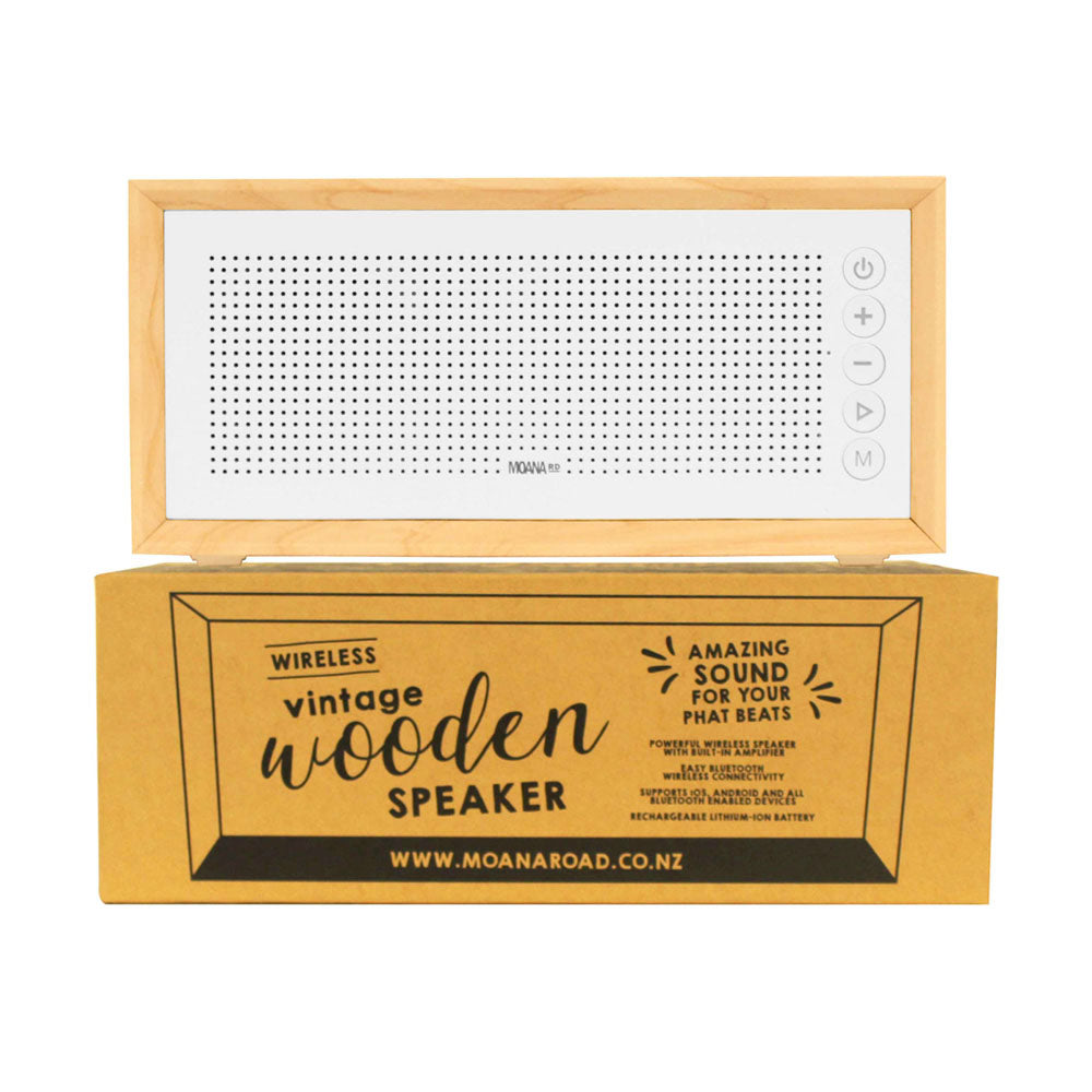 Moana Road Wireless Speaker White